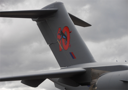 RAF C-17 at 10 tail - Craig Hoyle