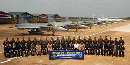 Thai Gripens - Saab
