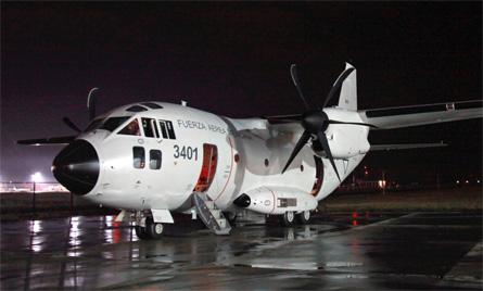 C-27J Mexico - Alenia Aeronautica