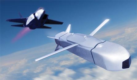 SOM cruise missile - Tim Bicheno-Brown