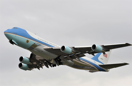 VC-25A Air Force One - Rex Features
