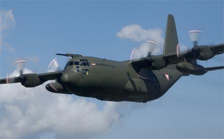 Austrian C-130K - Austrian air force