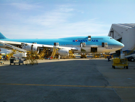 Korean Air 747-400