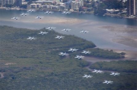Super Hornet formation - Commonwealth of Australia