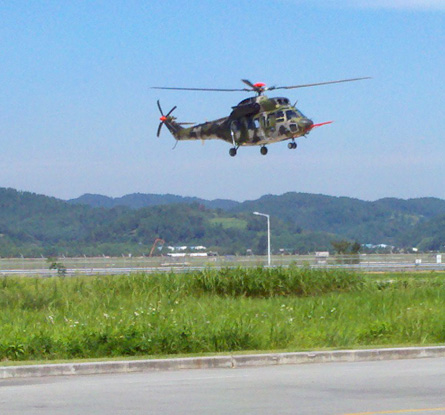 Surion test flight at KAI Sacheon