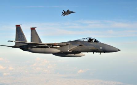 F-15C pair - US Air Force