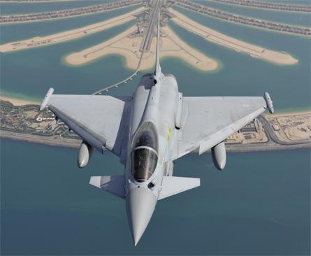 Typhoon in Dubai - Eurofighter