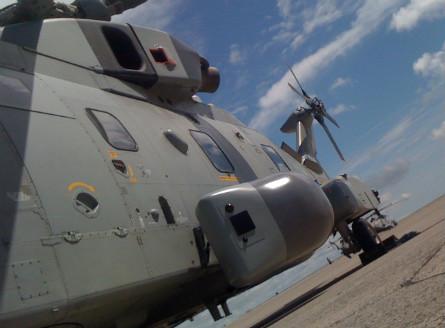 Vigilance pod on Merlin - Lockheed Martin