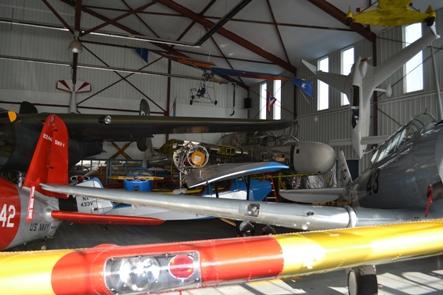 p61 in hangar