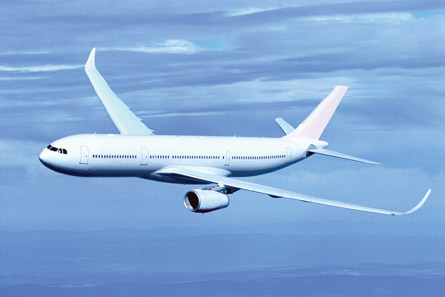 Airbus A330-200 with sharklets,
