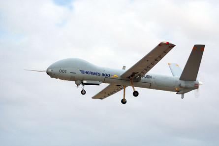 Elbit Hermes 900 UAV