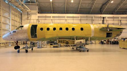 Embraer Legacy 500 fuselage