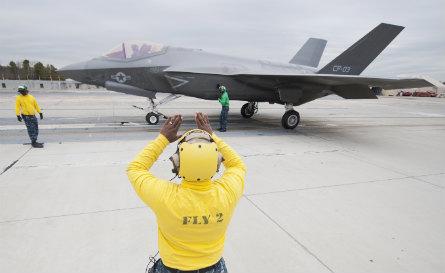 F-35C EMALS - Lockheed Martin