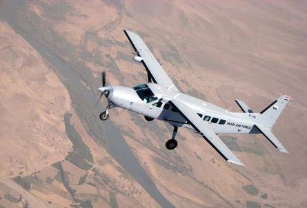 Iraqi air force AC-208 Combat Caravan