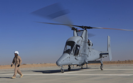 K-Max in Afghan on ground - USMC