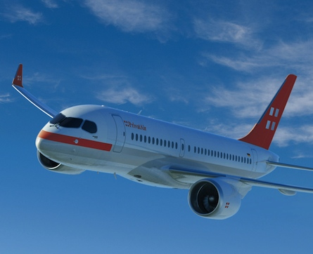 PrivatAir Bombardier CSeries CS100
