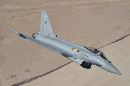 Typhoon in Gulf - BAE Systems