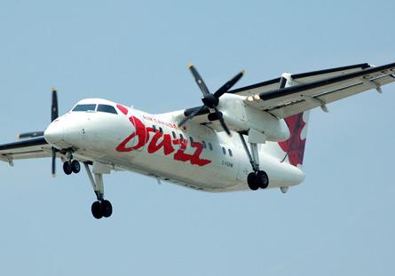 Air Canada jazz Bombardier Q400 Dash 8
