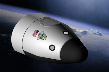 Blue Origin Bionic Space Vehicle Web