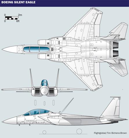 Boeing F-15 Silent Eagle General Arrangement