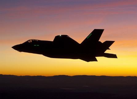 F-35 night - Lockheed Martin