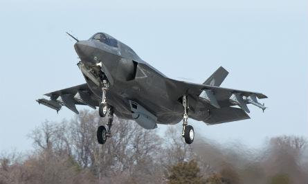 F-35B with gun pod - Lockheed Martin