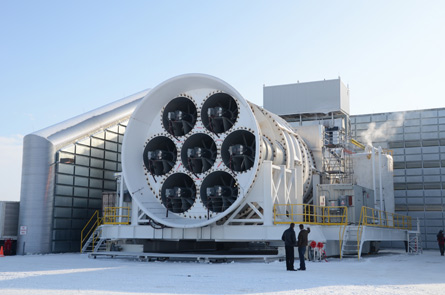 GE icing test facility,