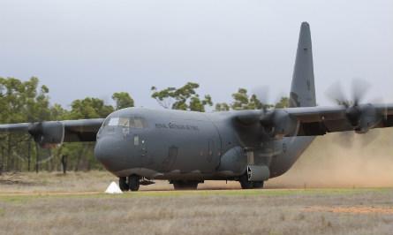 RAAF C-130J - Commonwealth of Australia