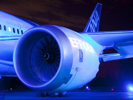 Rolls-Royce Trent 1000 on an ANA 787-8,