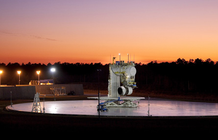 Rolls-Royce Trent XWB test area,