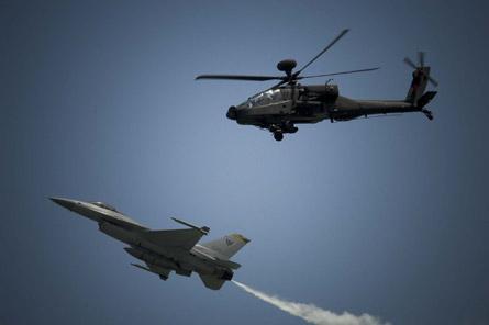 RSAF F-16 & AH-64D