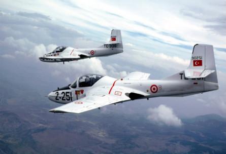 T-37 pair - Turkish air force