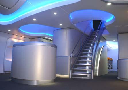 747-8I entry area