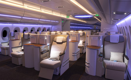 A350 cabin lighting