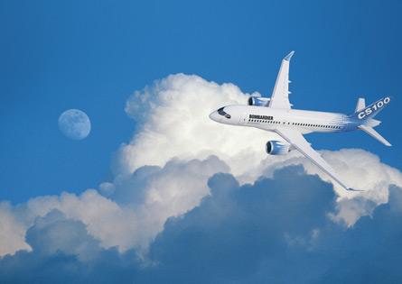 Bombardier CSeries CS100