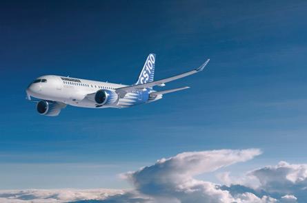 Bombardier CSeries CS100,