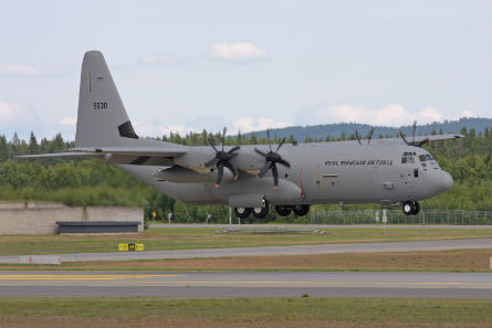 Crashed Norwegian C-130J - Flyphanuk AirSpace