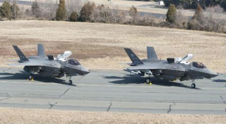 F-35B pair - Lockheed Martin