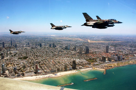 Israeli air force F-16Is,
