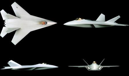 "Lockheed Martin ATF ""F-22"" designs"