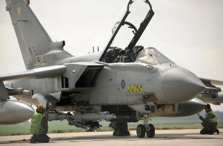 Tornado GR4 Brimstone - Crown Copyright