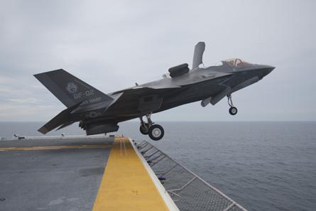 Lockheed Martin F-35B take off