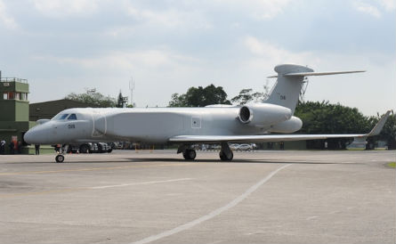 Singapore air force G550 - Cyberpioneer