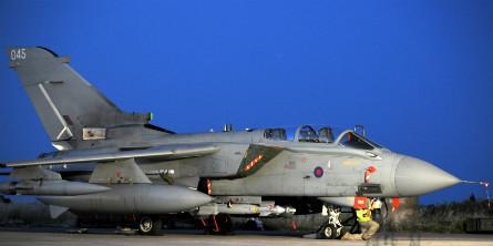 Tornado GR4 Paveway IV - Crown Copyright