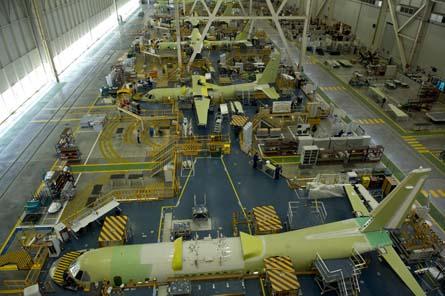 CN-235/C-295 maunfacturing,