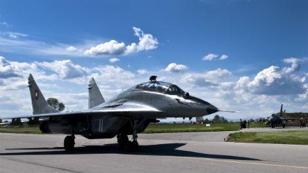Dead MiG-29 - USAF