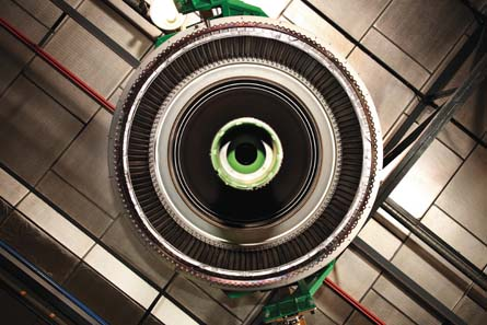 Low-pressure turbine,