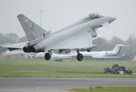 RAF Typhoon Northolt - Crown Copyright