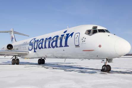 Spanair MD-80,