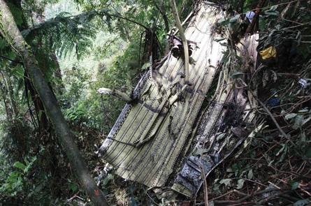 Sukhoi Superjet wreckage,
